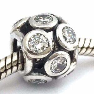 PaANDOR Whimsical Lights - Sterling Silver Bead